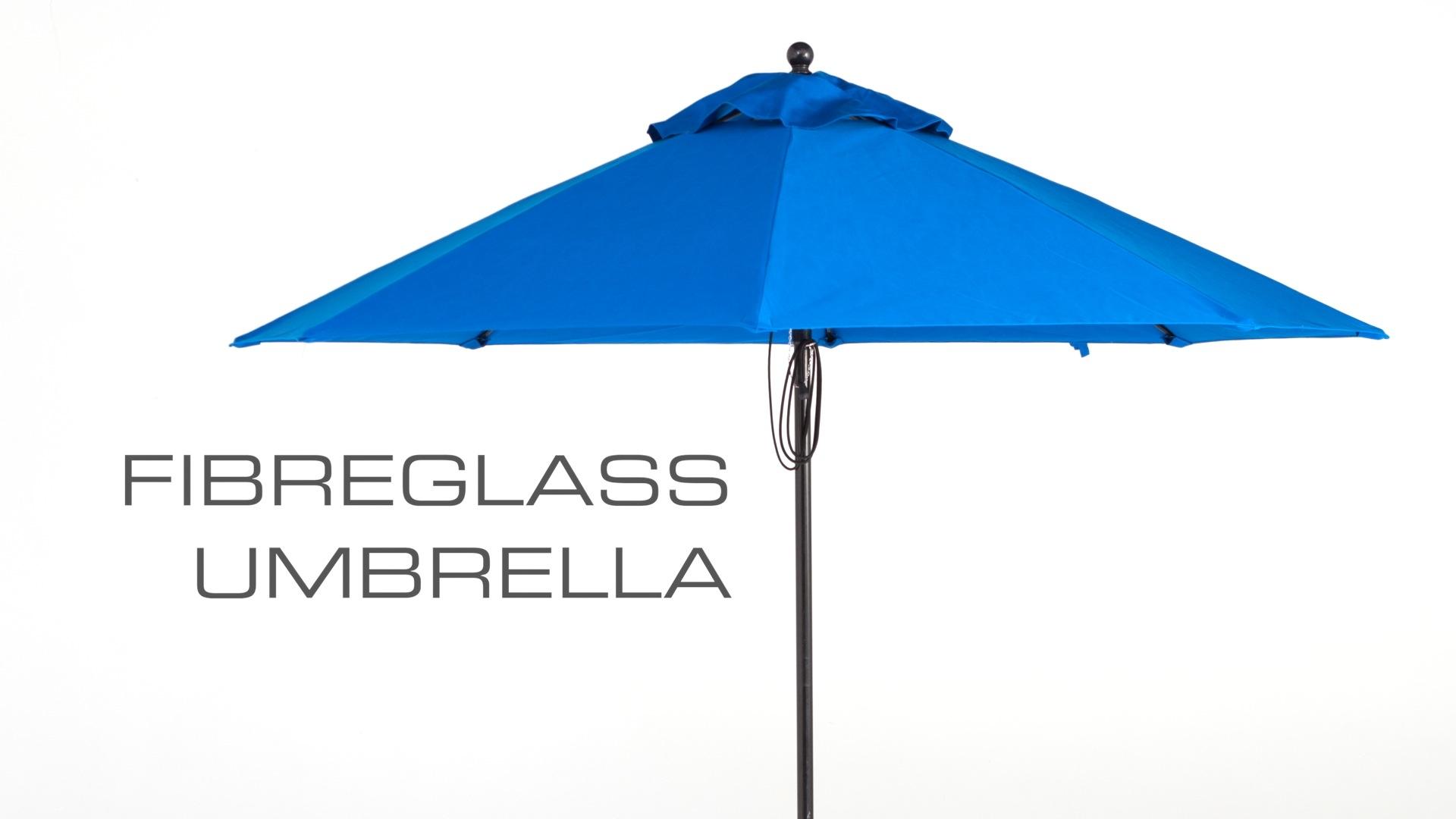 Fibreglass Outdoor Sun Umbrella
