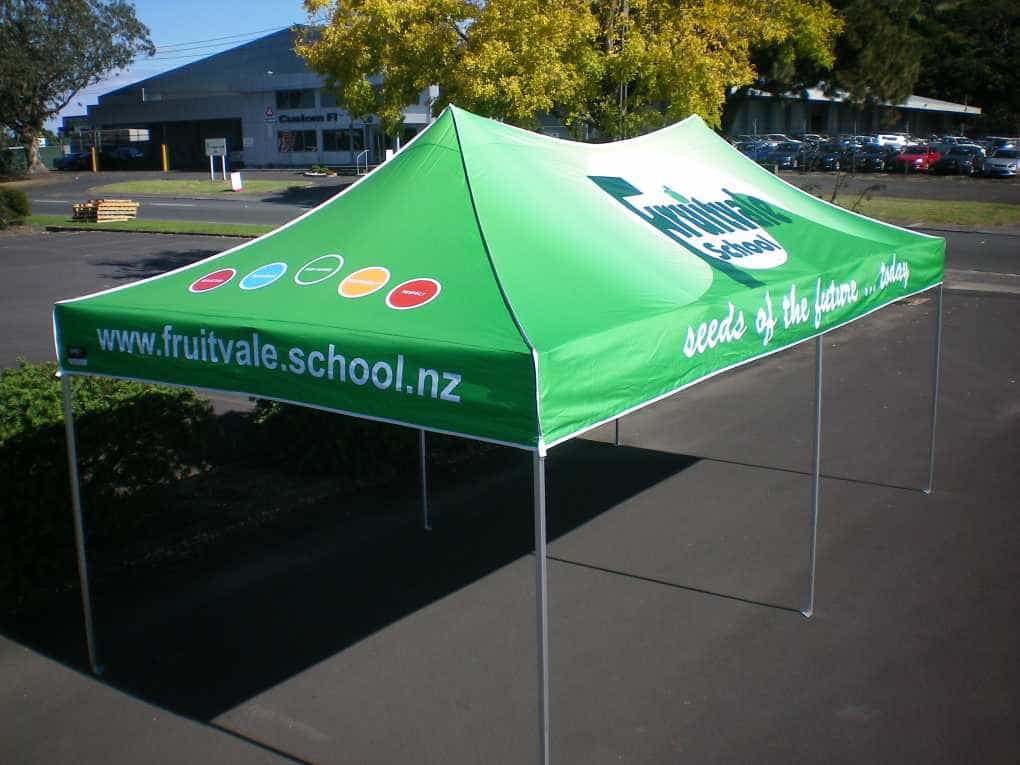 Fruitvale School Printed Gazebo