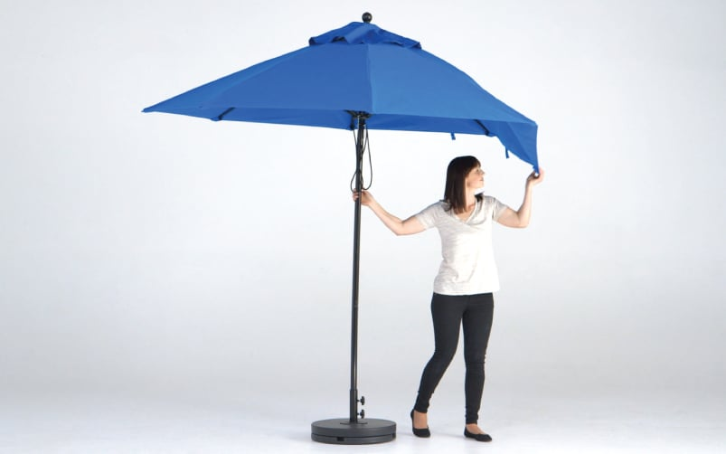Shade7 Fibreglass Commercial Market Umbrella
