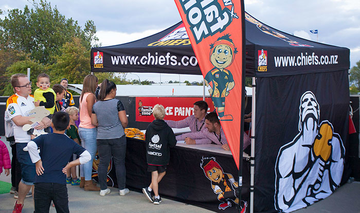 Branded Chiefs Pop Up Gazebo
