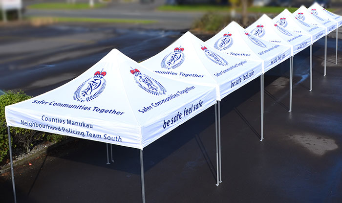 Branded Commercial Heavy Duty Gazebos