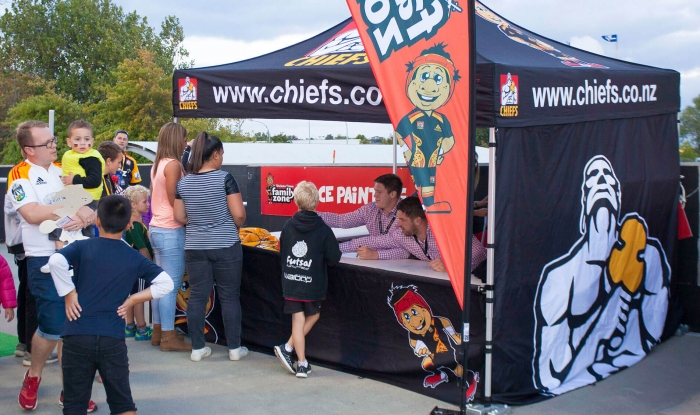 Branded Heavy Duty Gazebo Chiefs