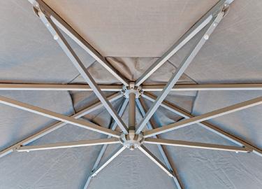 Cantilever Umbrella Rust Free Aluminium Arms