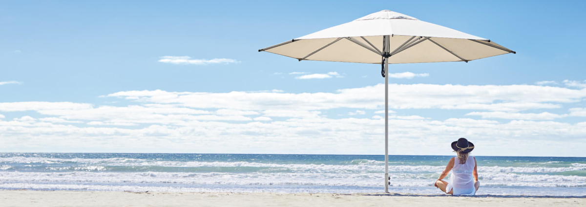 Large Outdoor Sun Umbrella NZ