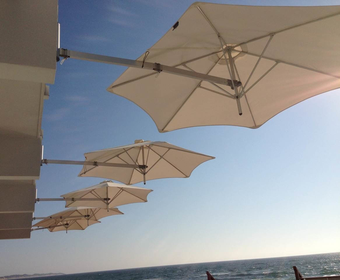 Paraflex Wall Mounted Sun Umbrellas