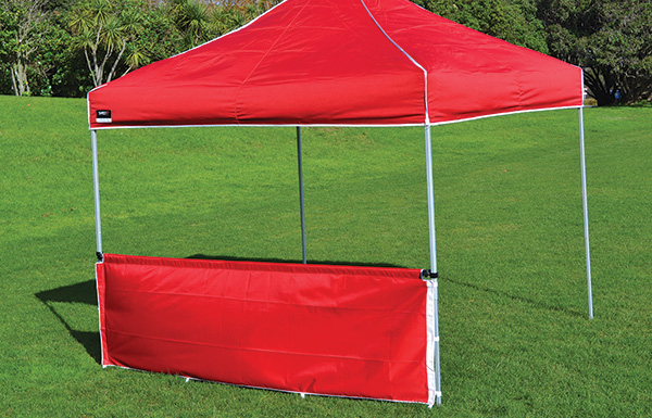 Pop Up Gazebo Half Wall