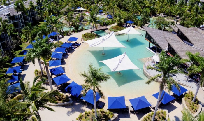 Radisson Blu Fiji Outdoor Umbrellas