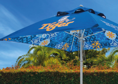 Tiger Branded Outdoor Umbrella