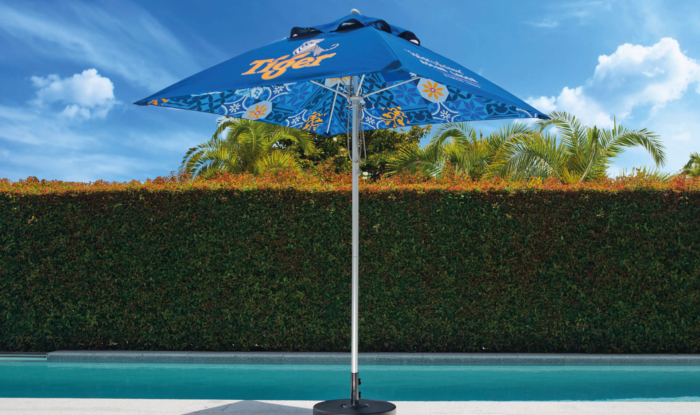 Tiger Branded Outdoor Sun Umbrella