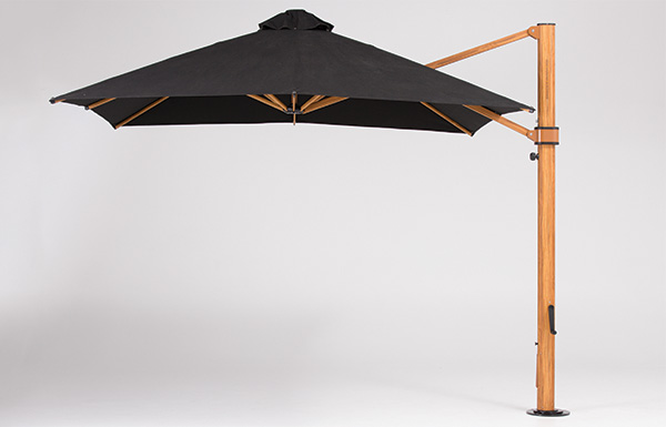 Woodgrain Cantilever Umbrella