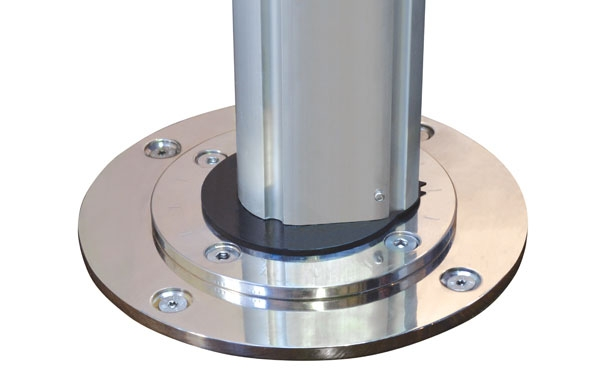 Riviera Cantilever Stainless Steel Base Plate