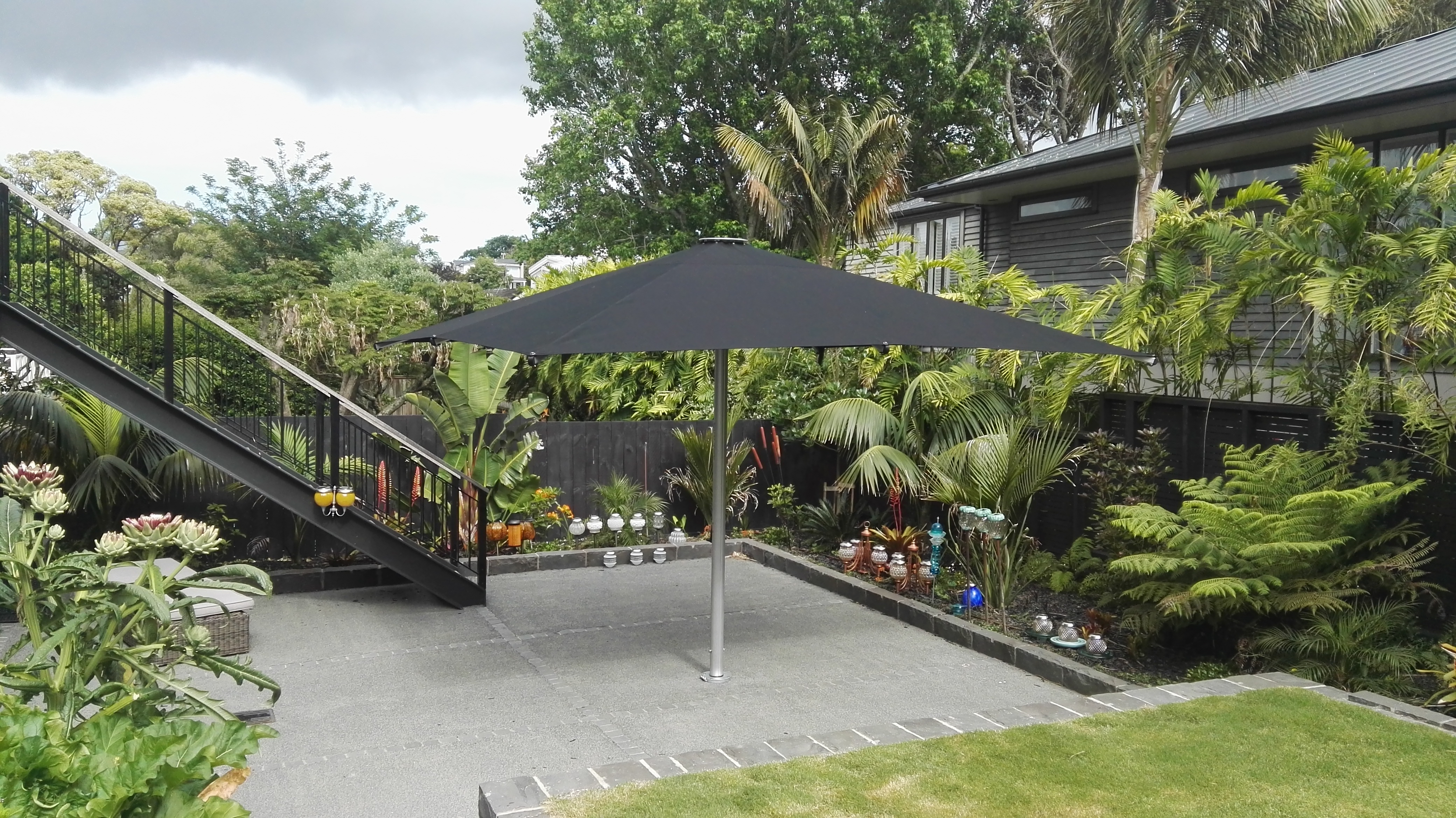 Tempest Umbrella Installed at Residential Home in Remuera