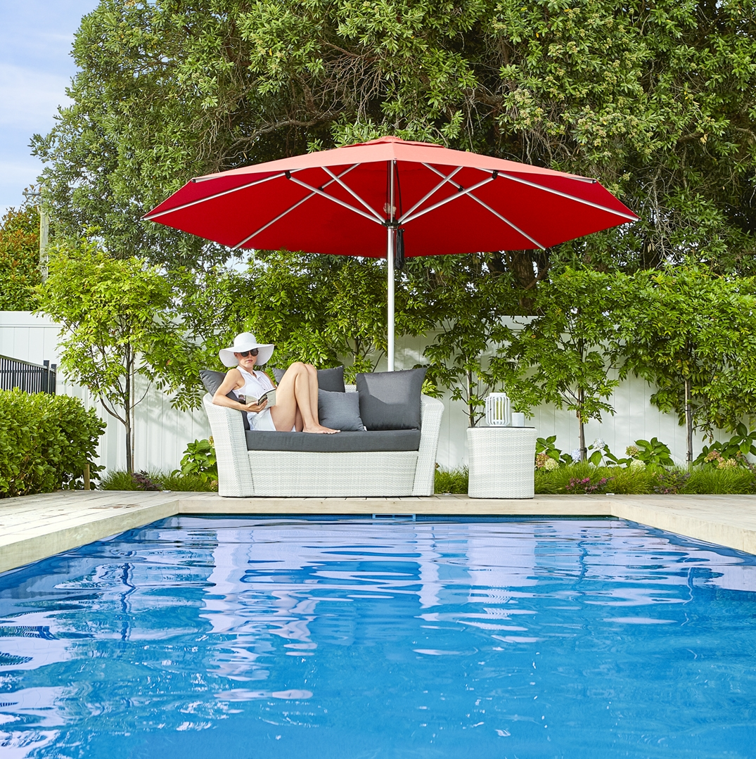 Monaco Outdoor Umbrella 4m Octagonal Auckland